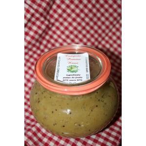 Compote de pomme-kiwi