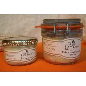 Foie gras de canard entier 90g