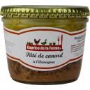 Pâté de canard a l'Armagnac 180 gr 4 parts