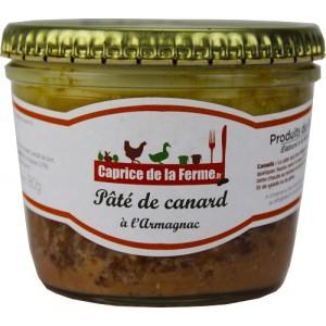 Pâté de canard a l'Armagnac 180g