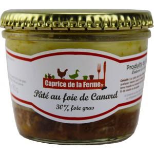 Pâté au foie gras de canard 180g