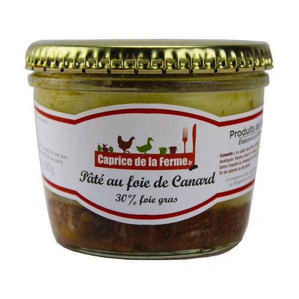 p 226 t 233 au foie gras de canard 180g caprice de la ferme